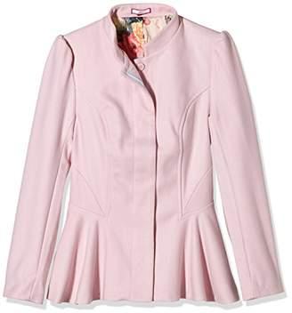 Joe Browns Women's Fabulous Fluted Peplum Long Sleeve Jacket