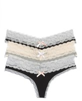 Honeydew Intimates Women's 3-Pack Lace Thong