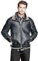 GUESS Men's Bastien Pebbled Jacket