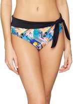Pour Moi? Women's Halcyon Fold Over Brief Bikini Bottoms