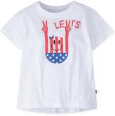 Levi's Short Sleeve Hi-Low Tee, Little Girls (4-6X)