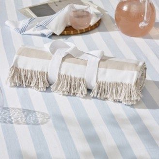 The White Company Beach Blanket, White Natural, One Size
