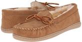 Minnetonka Sheepskin Hardsole Moc Women's Moccasin Shoes