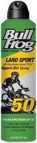 Bull Frog Land Sport Sport-Dri Continuous Spray Sunscreen - SPF 50 - 6 oz