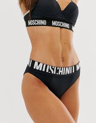 Moschino bikini briefs-Black