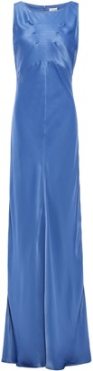 By Malene Birger Satin-crepe Maxi Dress