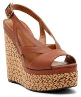 Aquatalia Carley Leather Wedge Sandal