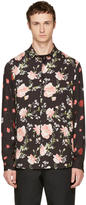 McQ by Alexander McQueen Black Recycled Sheehan Shirt
