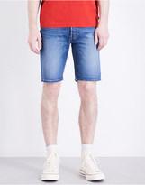 Levi's 501 hemmed stretch-denim shorts