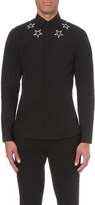 Givenchy Star embroided cotton shirt