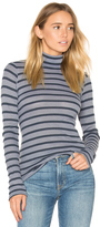 Stateside Stripe Thermal Turtleneck Sweater
