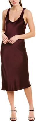 Heather Luster Midi Dress