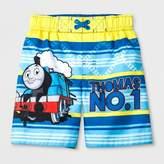 Thomas Laboratories Toddler Boys' & Friends Swim Trunks - Blue