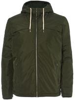 Jack and Jones Men's Originals Calm Zip Through Hooded Jacket - Forest Night