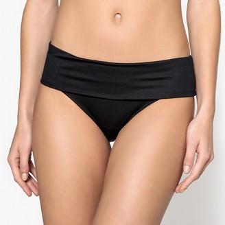 Anne Weyburn High Waisted Full Bikini Bottoms