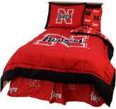 College Covers Nebraska Huskers Reversible Comforter Set, Full