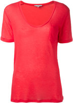 IRO plain T-shirt - women - Polyurethane/Tencel - S