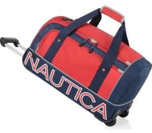 """Nautica Submariner 22"""" Wheeled Duffle"""