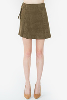 Sugar Lips Rizer Suede Skirt