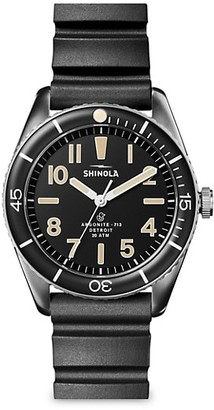 Shinola The Duck Stainless Steel Bracelet & Rubber-Strap Watch Gift Set
