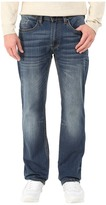 Buffalo David Bitton Driven Straight Leg Jeans in Naturally Sanded/Scratch Men's Jeans