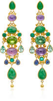 Mallary Marks Chandelier Imperial Jade Earrings
