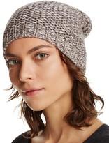 Aqua Marl Metallic Slouchy Hat