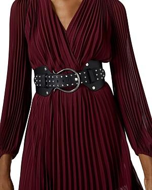 The Kooples Pleated Midi Dress