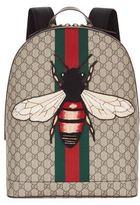 Gucci Web Animalier Bee Backpack