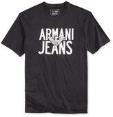 Armani Jeans Men's Central Eagle Logo T-Shirt