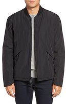 Andrew Marc Dalton City Rain Bomber Jacket with Faux Shearling Lining