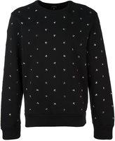 Diesel star stud sweatshirt - men - Cotton - XXL