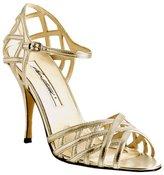 gold nappa 'Katie' sandals