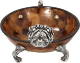Lotus Arts de Vivre Decorative Bulldog Bowl
