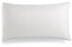"Hotel Collection Lithos Embroidered 14"" x 24"" Decorative Pillow, Created for Macy's Bedding"