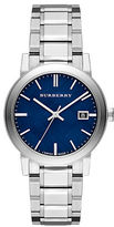 Burberry Mens City Silvertone Watch