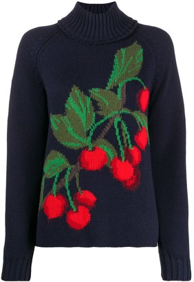 Pringle Cherry Print Knit