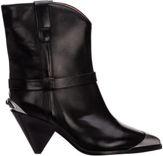 Isabel Marant Limza Heeled Ankle Boots