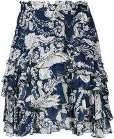 Just Cavalli floral print skirt - women - Silk/Viscose - 40