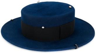 Ruslan Baginskiy pin detail Boater hat