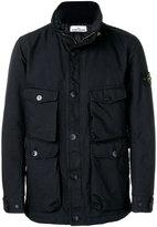 Stone Island classic zipped jacket