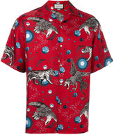 Gucci printed pyjama shirt - men - Silk - 50
