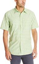 G.H. Bass Men's Short Sleeve Explorer Fancy Shirt