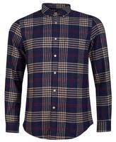 Portuguese Flannel Tomar Checked Button Down Flannel Shirt Colour: RED