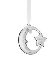 Reed & Barton 2017 Baby's First Moon & Star Ornament