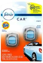 Febreze CARTM 2-Count .06 fl. oz. Original Scent with Tide Vent Clip Air Freshener
