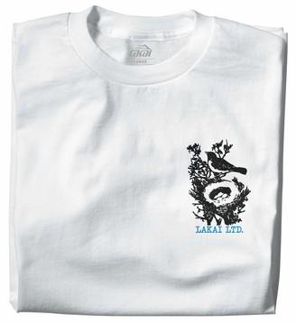 Lakai Unisex-Adult's Early Bird TEE WhiteSize S