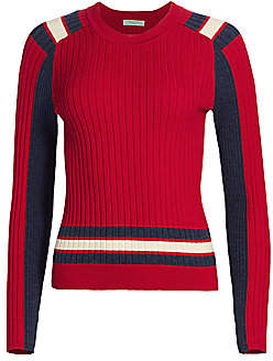 Rag & Bone Women's Julee Striped Crewneck Top