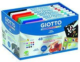 Giotto 946202 - Color felt-tip pens for any surface 48 units by Giotto