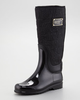 Marc by Marc Jacobs Winter Warming Nylon Logo Boot